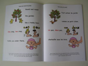book of bilingual nursery rhymes
